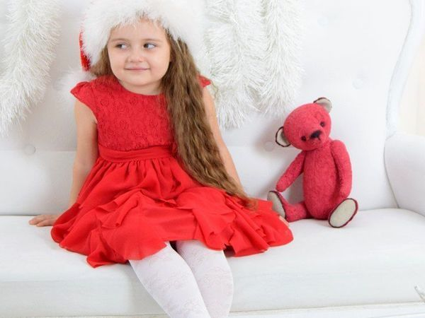 Дети и медведи.Новогодняя фотосэссия. | Ярмарка Мастеров - ручная работа, handmade