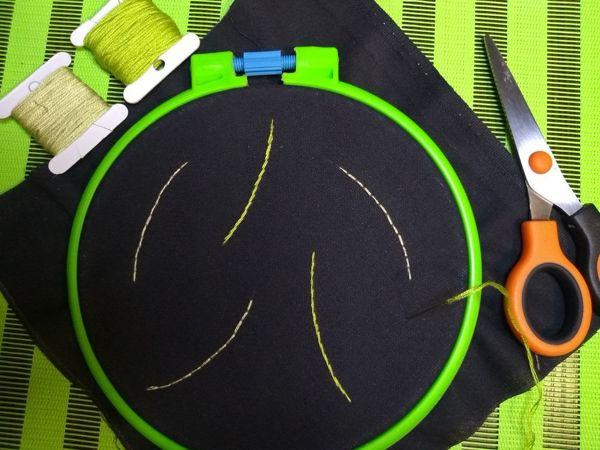 Простые швы для начинающих вышивальщиц | Ярмарка Мастеров - ручная работа, handmade
