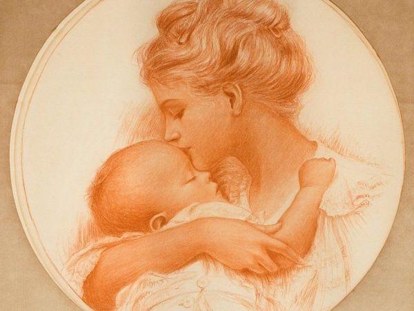 Материнская молитва | Ярмарка Мастеров - ручная работа, handmade