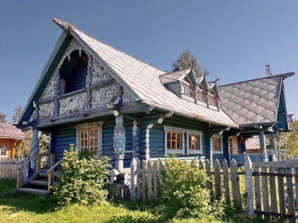 Резное великолепие: русские «пряничные» домики из дерева   Ярмарка Мастеров - ручная работа, handmade