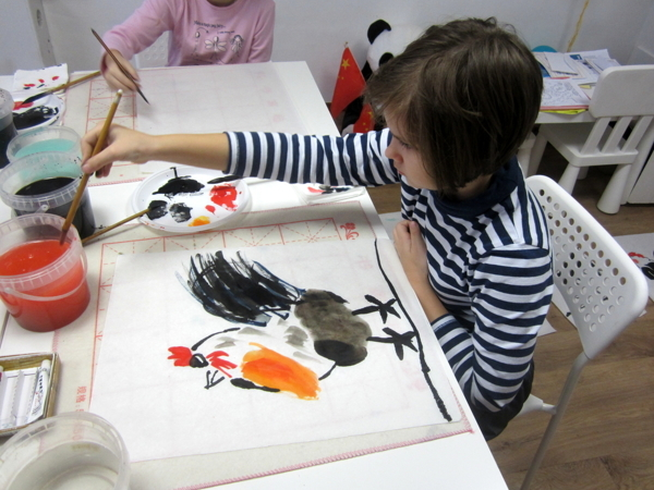 МК по китайской живописи. Для детей и взрослых | Ярмарка Мастеров - ручная работа, handmade