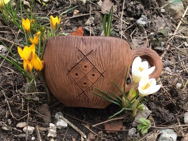 Волшебная кружечка экокерамика | Ярмарка Мастеров - ручная работа, handmade