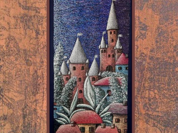 Как создавался  «Старинный замок» . Процесс, часть 1, принты   Ярмарка Мастеров - ручная работа, handmade