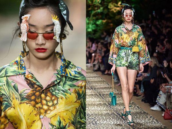 Тропический шик! Коллекция от Dolce&Gabbana весна-лето 2020 | Ярмарка Мастеров - ручная работа, handmade