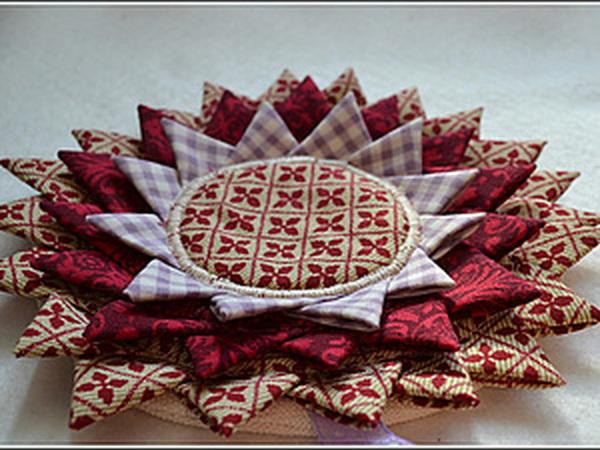 Прихватка или подставка под горячее   Ярмарка Мастеров - ручная работа, handmade