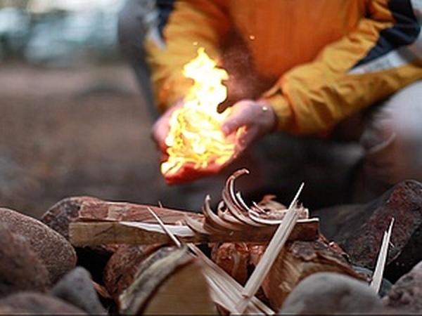 Старинное огниво - разведение огня из искры.   Ярмарка Мастеров - ручная работа, handmade