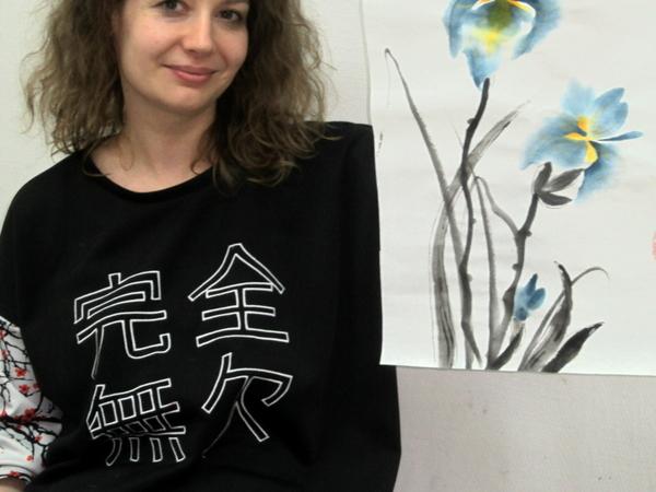 МК по китайской традиционной живописи го хуа. Тема свободная) | Ярмарка Мастеров - ручная работа, handmade
