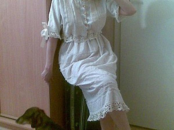 Шьем ночную рубашку в викторианском стиле | Ярмарка Мастеров - ручная работа, handmade