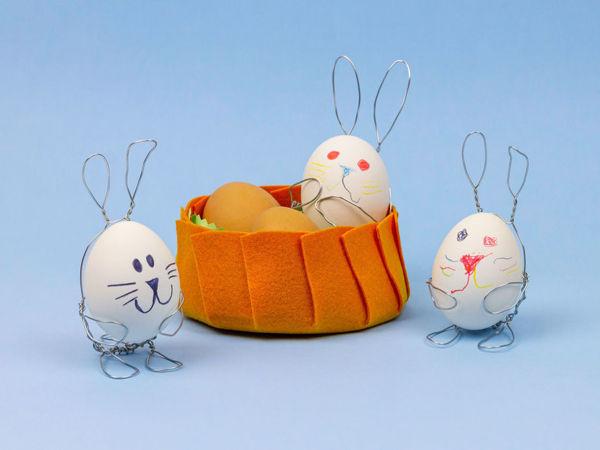 Как сделать подставку для яиц своими руками. Пасхальный декор. DIY/Видео мастер-класс | Ярмарка Мастеров - ручная работа, handmade