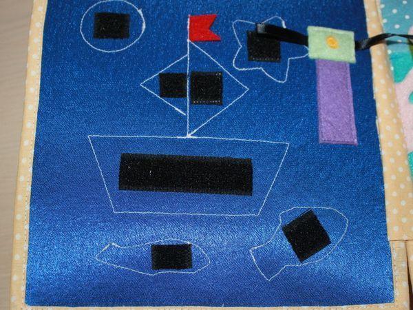 Как быстро и точно перенести контуры фигур с выкройки на страничку развивающей книжки | Ярмарка Мастеров - ручная работа, handmade