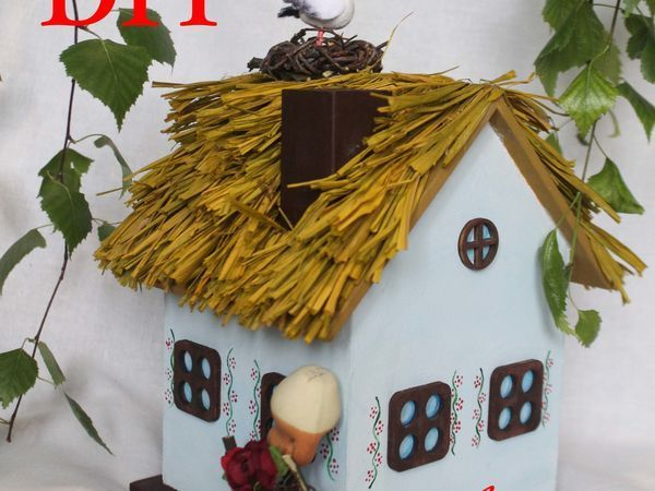 Мастерим домик-миниатюру. Часть 3 | Ярмарка Мастеров - ручная работа, handmade