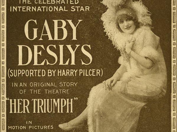 Gaby Deslys — звезда «Прекрасной эпохи» | Ярмарка Мастеров - ручная работа, handmade