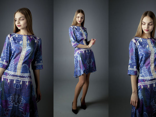Платье Волшебный лес   Ярмарка Мастеров - ручная работа, handmade