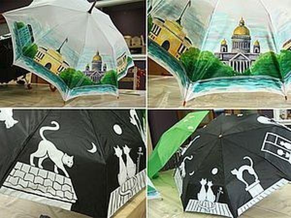 Мастер-класс по росписи зонтов! | Ярмарка Мастеров - ручная работа, handmade