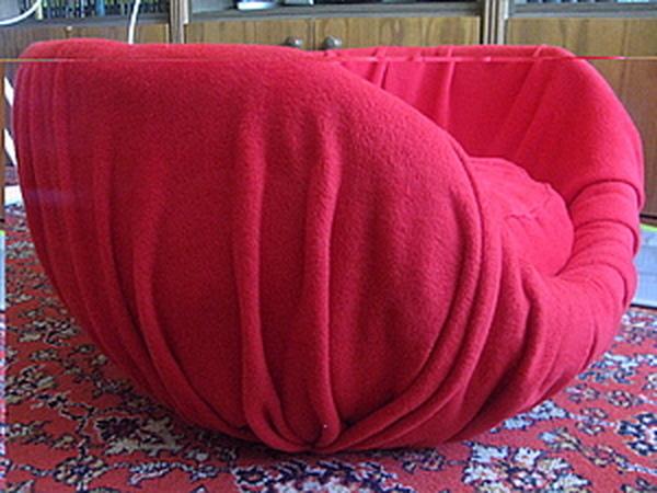 Мягкое кресло для сынули. Папье маше обтянутое флисом!   Ярмарка Мастеров - ручная работа, handmade