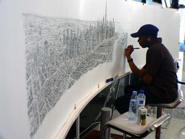 Творчество и талант живет в каждом! Художник-аутист Стивен Уилтшир | Ярмарка Мастеров - ручная работа, handmade