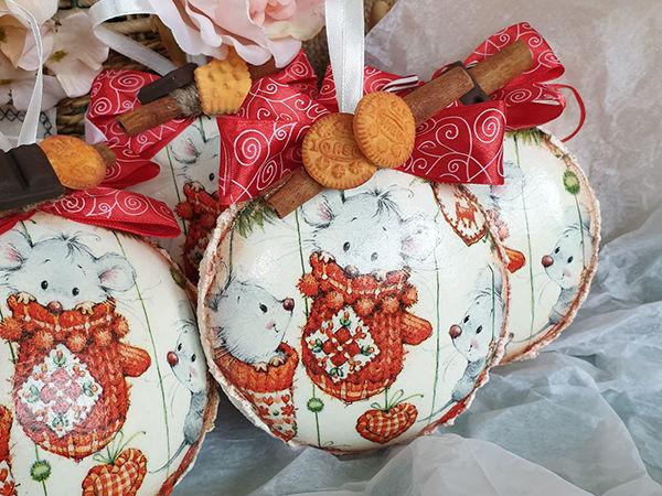 Год Крысы: 12 простых мастер-классов с идеями новогодних подарков своими руками   Ярмарка Мастеров - ручная работа, handmade