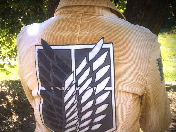 Как сделать нашивки на одежду, на примере шевронов «Крылья свободы». Видеоурок | Ярмарка Мастеров - ручная работа, handmade