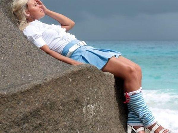 Ноги в гетрах даже летом | Ярмарка Мастеров - ручная работа, handmade
