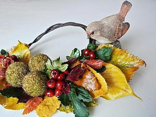 Make an Autumn Home Decoration for 5 Minutes | Livemaster - handmade