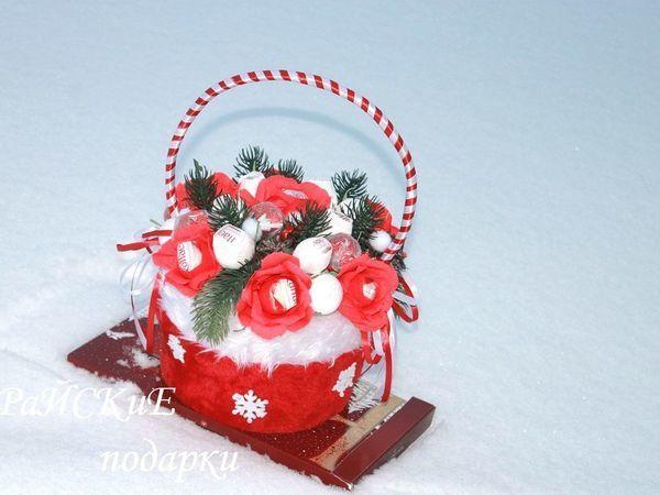 Мастерим сумочку из новогоднего колпака | Ярмарка Мастеров - ручная работа, handmade
