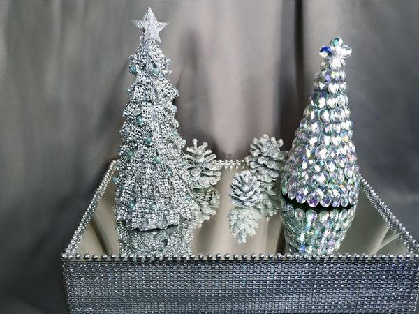 Делаем шикарный новогодний декор для дома: видео мастер-класс | Ярмарка Мастеров - ручная работа, handmade