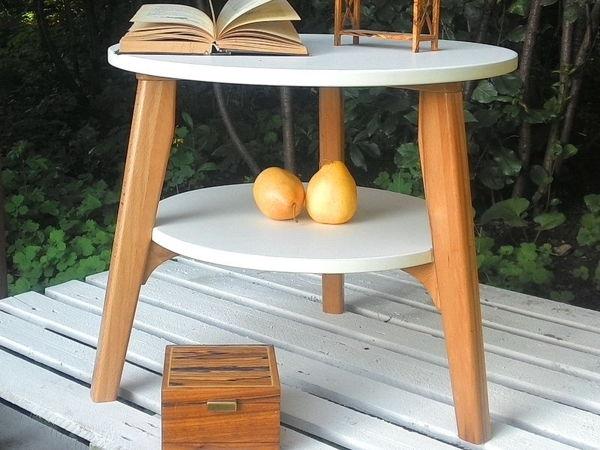 Новинка! Круглый столик на 3х ножках   Ярмарка Мастеров - ручная работа, handmade