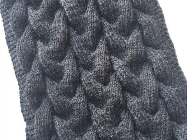 Учимся вязать узор «Коса с тенью» | Ярмарка Мастеров - ручная работа, handmade