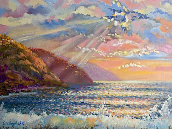 Мечты о море! Морские пейзажи | Ярмарка Мастеров - ручная работа, handmade