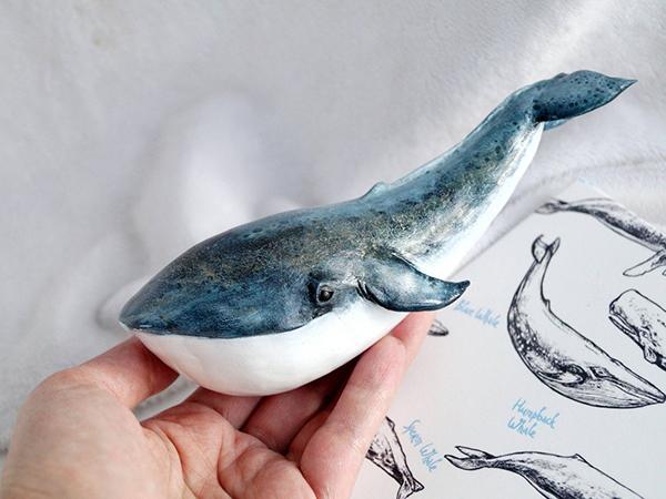 Pocket Marine Creatures: Whale World of Polymer Clay by Tatsiana Holas | Livemaster - handmade