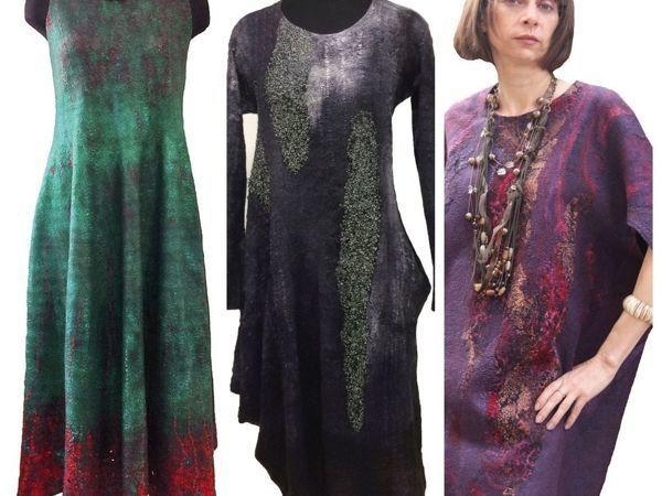 Спецкурс по валянию  «Три платья» | Ярмарка Мастеров - ручная работа, handmade