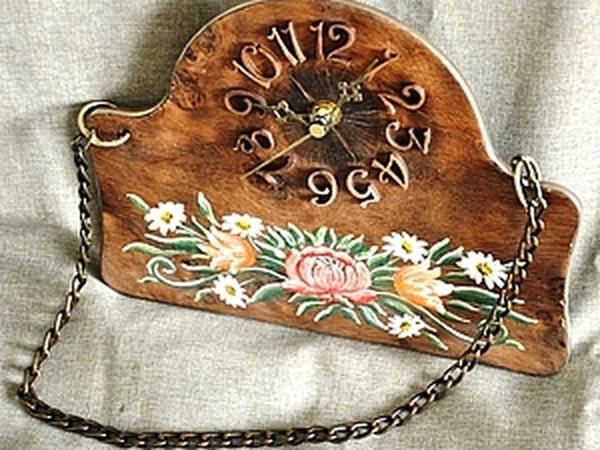 Мастер-класс: часы в стиле «шале» | Ярмарка Мастеров - ручная работа, handmade