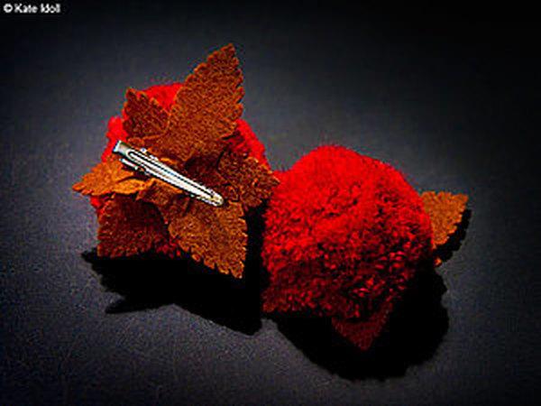 Делаем забавные заколки-помпоны | Ярмарка Мастеров - ручная работа, handmade