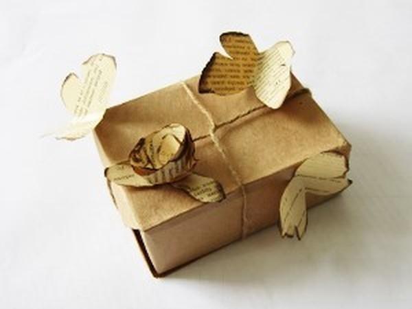 Красивая упаковка подарка, которую может сделать каждый | Ярмарка Мастеров - ручная работа, handmade