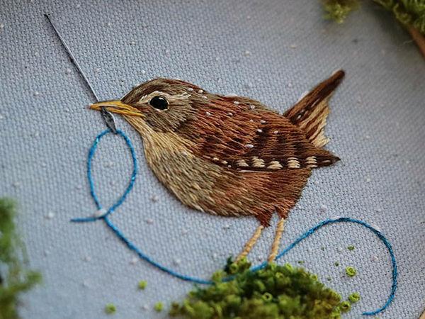 100 дней вышивки: мастерица бросила себе вызов и помогла природе | Ярмарка Мастеров - ручная работа, handmade