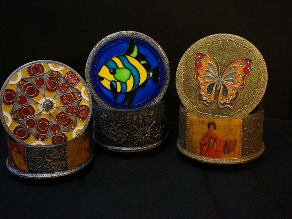 Мастер-класс «Имитация перегородчатой эмали»   Ярмарка Мастеров - ручная работа, handmade