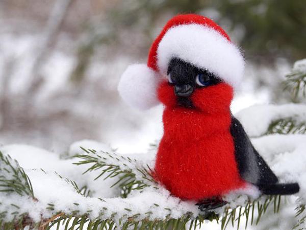 Снегири прилетели: 10 мастер-классов с любимыми зимними птичками | Ярмарка Мастеров - ручная работа, handmade