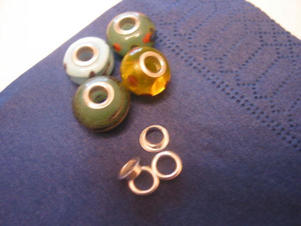 Серебряные вставки (люверсы) 5 мм и 4 мм из США снова в продаже   Ярмарка Мастеров - ручная работа, handmade