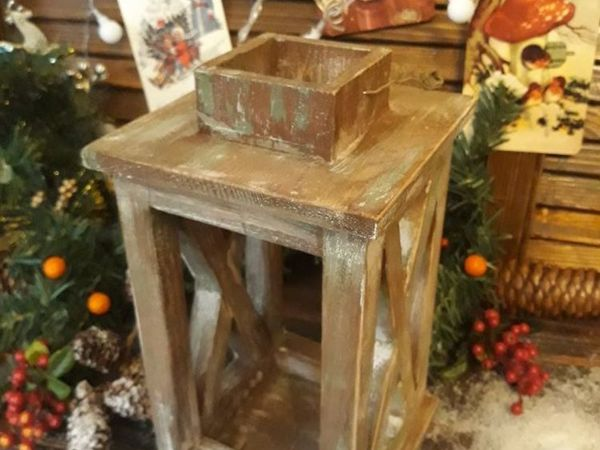 Мастерим деревянный подсвечник фонарь | Ярмарка Мастеров - ручная работа, handmade