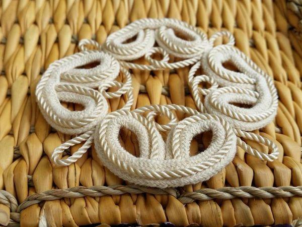 Декорирование шнурами и сутажами Marjolein van der Heide | Ярмарка Мастеров - ручная работа, handmade
