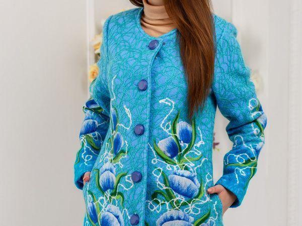 Вниманию тонких и звонких! Распродажа подиумных пальто | Ярмарка Мастеров - ручная работа, handmade