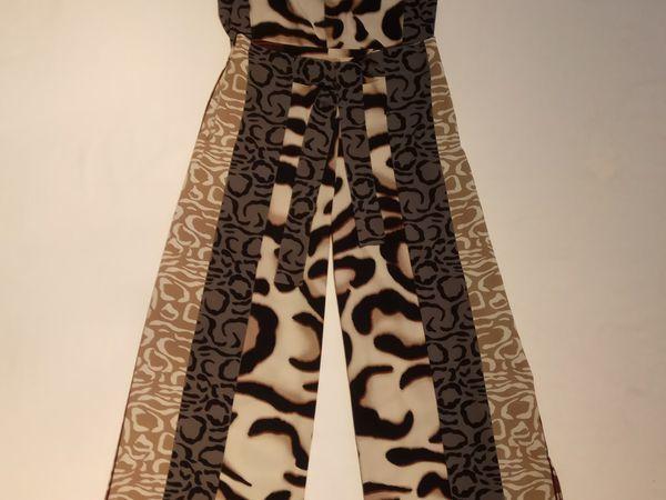 Шьём трендовые брюки палаццо из принтовой ткани | Ярмарка Мастеров - ручная работа, handmade