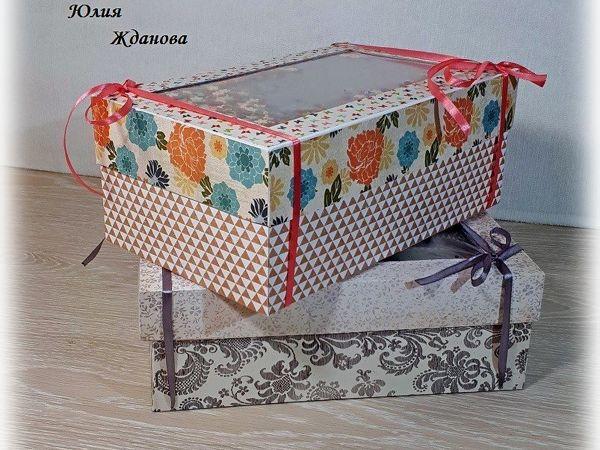 Делаем упаковочную коробку с шейкером | Ярмарка Мастеров - ручная работа, handmade