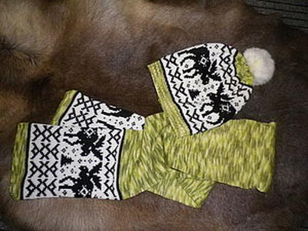 Шапки-шарфы с орнаментами | Ярмарка Мастеров - ручная работа, handmade