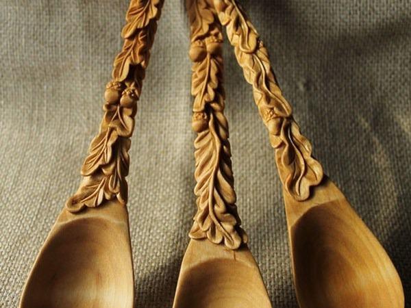 Вырезаем сами деревянную ложку | Ярмарка Мастеров - ручная работа, handmade