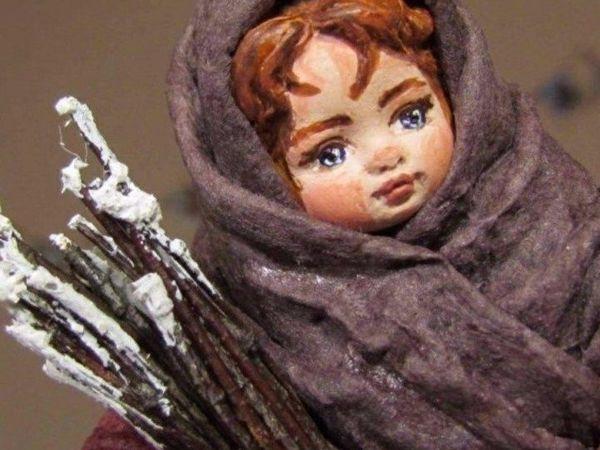 МК в Москве — Елочная игрушка из ваты | Ярмарка Мастеров - ручная работа, handmade