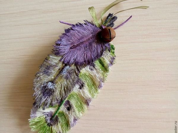 DIY on Creating Textile Feathers | Livemaster - handmade