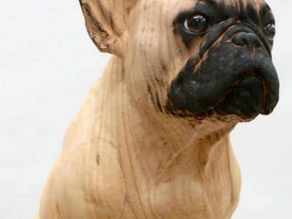 Скульптуры, которые вот-вот оживут и завиляют хвостами: деревянное творчество Джерарда Маса | Ярмарка Мастеров - ручная работа, handmade