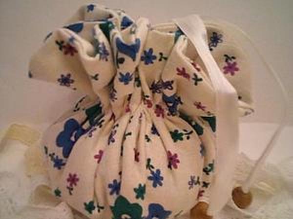 923bb59e4b1a Шьем мешочек-торбочку с подкладом | Ярмарка Мастеров - ручная работа,  handmade