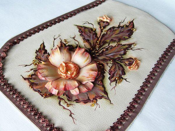 Декор сумки «Осенний вальс» | Ярмарка Мастеров - ручная работа, handmade